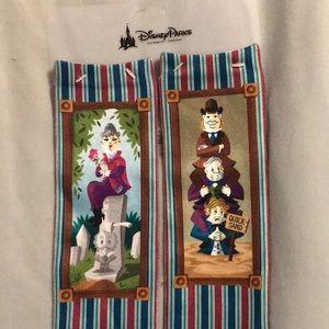 Disney haunted mansion tube dress socks